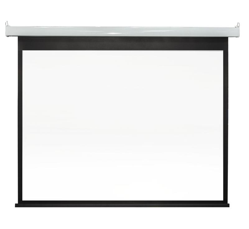 XY Screens-Sc83 Steel Paint Intelligent Motorized Projection Screen | Curved Frame-2