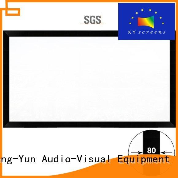 XY Screens Brand hk80b screen frame movie projector screen hd