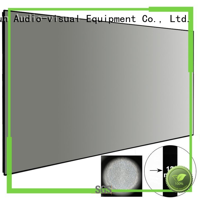 ambient light projector screen sphkblack XY Screens Brand Ambient Light Rejecting Projector Screen