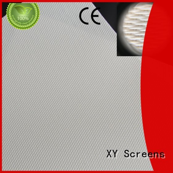 XY Screens 4k Acoustically Transparent Fabrics max gain