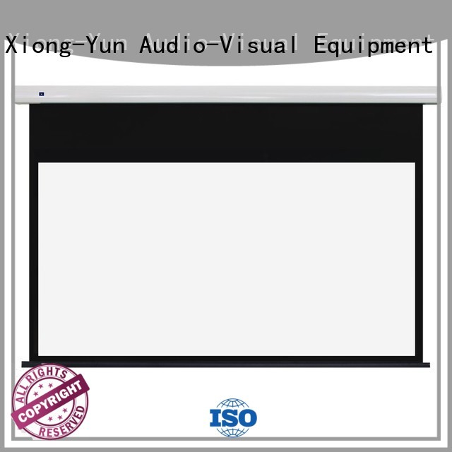 XY Screens durable electric projector screen personalized for indoors