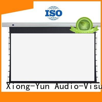 XY Screens intelligent Tab tensioned series screen motorized
