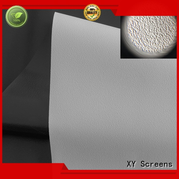 XY Screens Brand ywf1 silver hg HD home theater projection screens with soft PVC fabric wg1