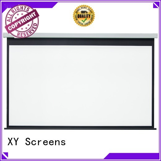 Motorized Retractable Projector Screen E300B