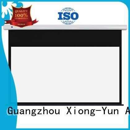 ec1 Standard motorized series XY Screens free standing projector screen