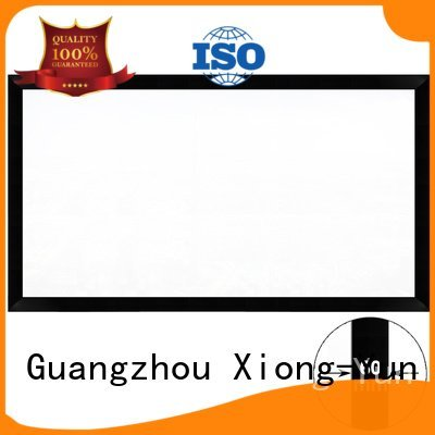 cinema fixed frame projector XY Screens Commercial Fixed Frame Projector Screens