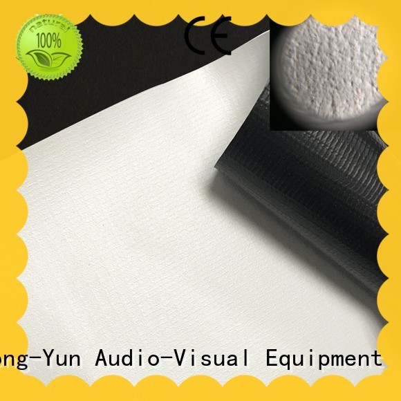 pet projector screen fabric china wrinkle free for motorized projection screen