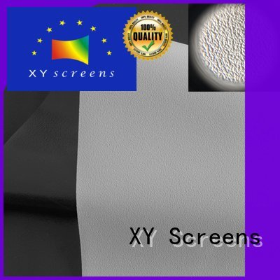 quality fabric XY Screens HD home theater projection screens with soft PVC fabric