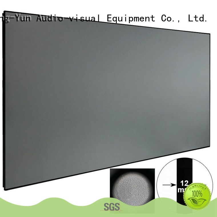 slim Ambient Light Rejecting Projector Screen factory price for indoors