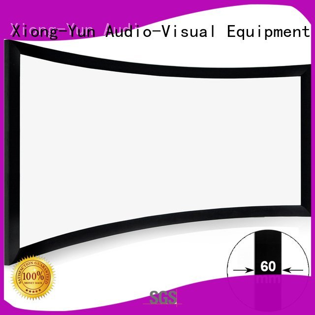 home entertainment projector thin screen home entertainment center XY Screens Brand