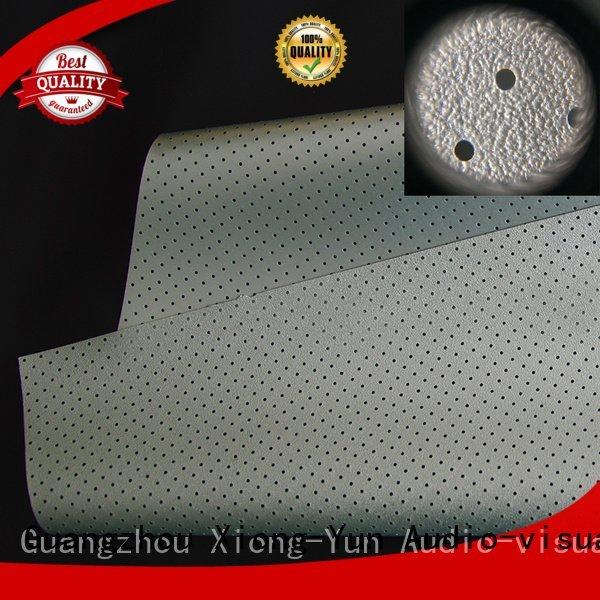 XY Screens acoustic fabric max max2 max5
