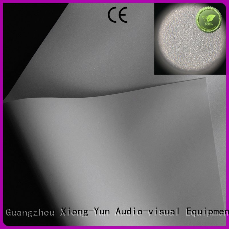 HD home theater projection screens with soft PVC fabric hg fabric 3d XY Screens