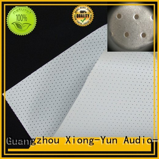4k sound woven XY Screens acoustic fabric