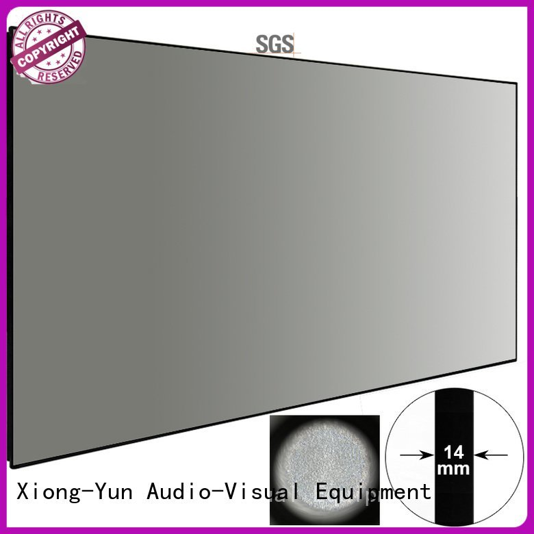 OEM Ambient Light Rejecting Projector Screen slim ambient ambient light projector screen