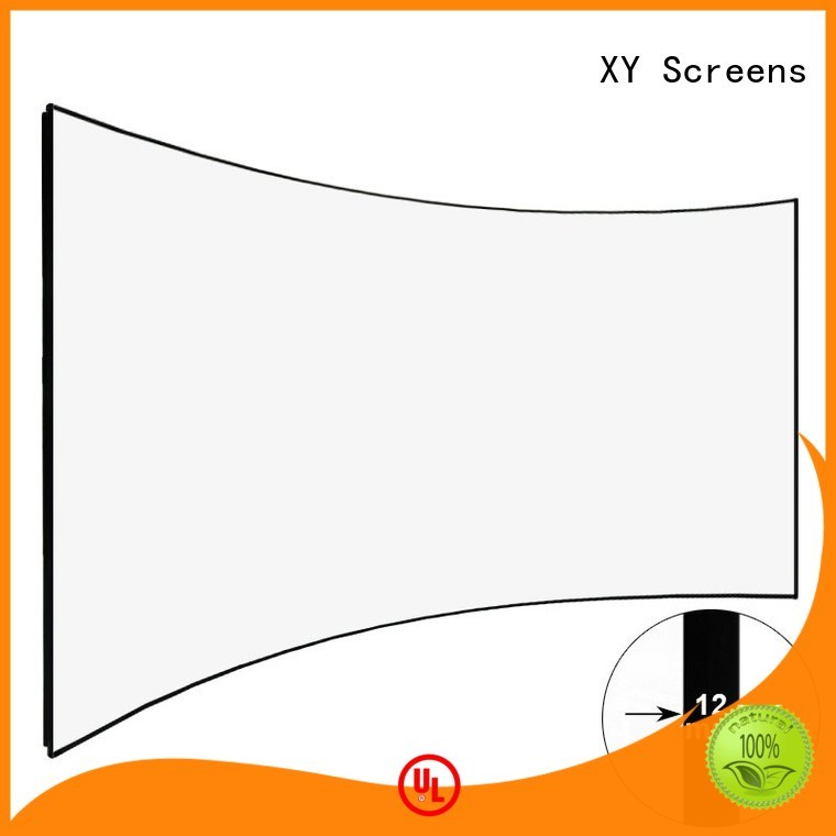 XY Screens slim home entertainment center frame for home cinema