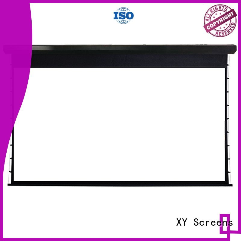 intelligent large portable projector screen directly sale for movies