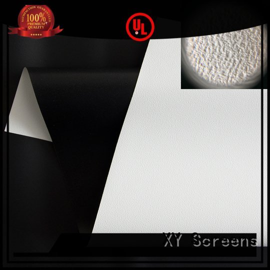 XY Screens Brand hg ywf1 matte HD home theater projection screens with soft PVC fabric