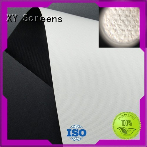 XY Screens front fabrics factory for thin frame projector screen