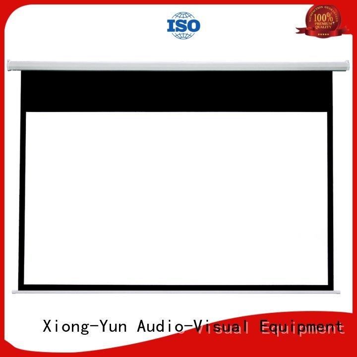 e300b retractable Motorized Retractable Projector Screen hd XY Screens