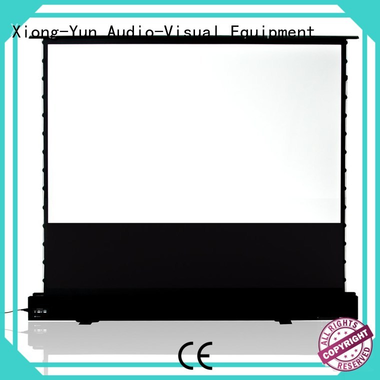 XY Screens rising projection screen price wholesale for household