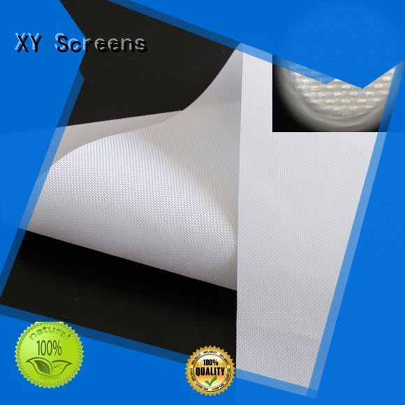 Front and rear portable projector screen double projector screen fabric pet XY Screens