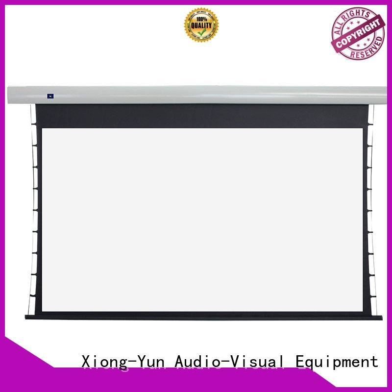 tab tensioned electric projector screen screen intelligent Tab tensioned series