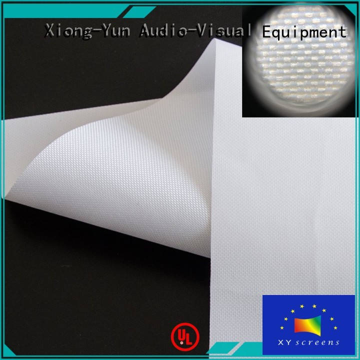 flexible Rear Fabrics inquire now for fixed frame projection screen