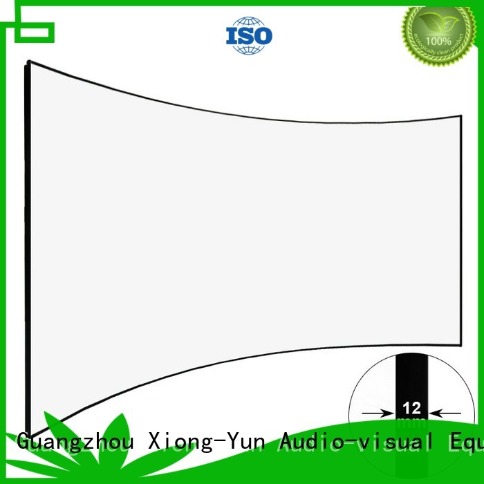 XY Screens thin curved projector screen supplier for ktv