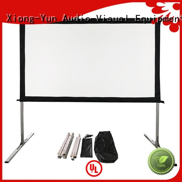 outdoor pull down projector screen 80400 outdoor projector screen XY Screens Brand
