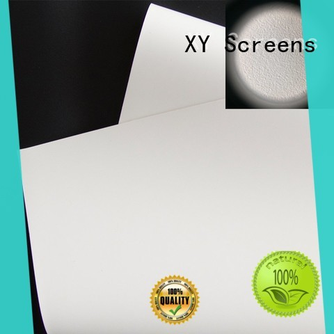 black projector screen material for thin frame projector screen XY Screens