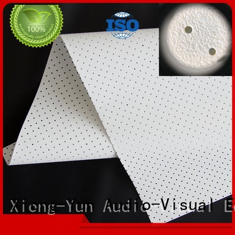 XY Screens acoustic fabric