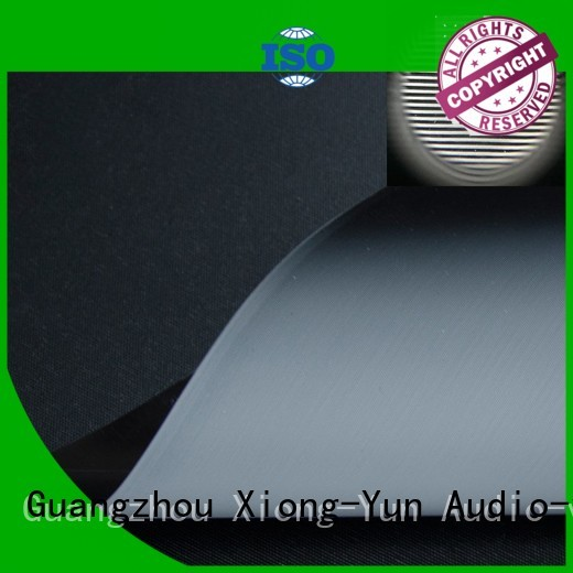 durable projector screen fabric series for thin frame projector screen