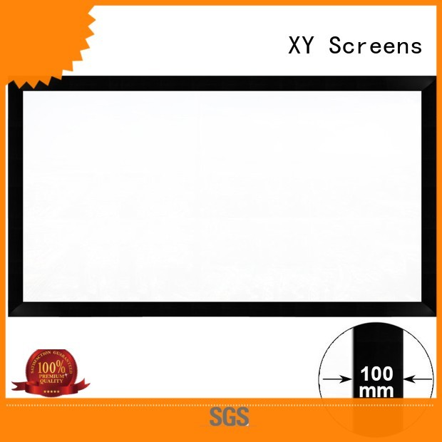 Custom projector hk100c projector screen price XY Screens fixed
