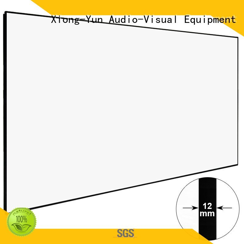 hd home theater projector screen bezel thin hd projector screen manufacture