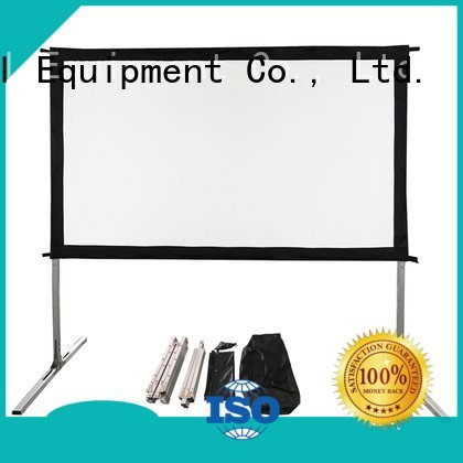 XY Screens outdoor pull down projector screen opf folding fast series