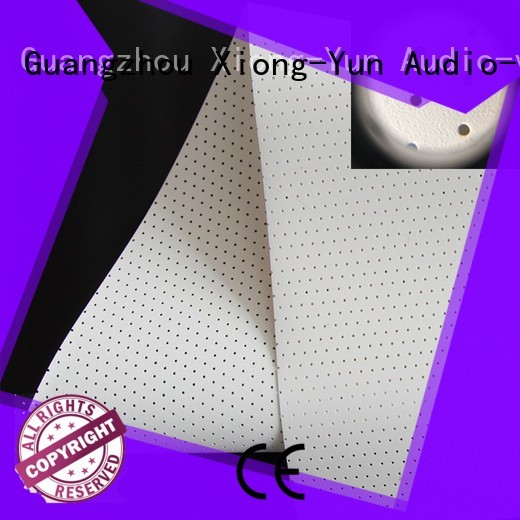 woven fabric OEM Acoustically Transparent Fabrics XY Screens