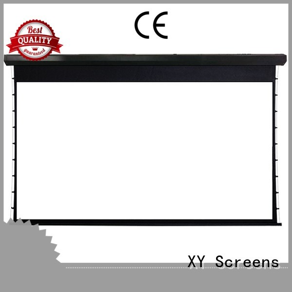 XY Screens motorized large portable projector screen directly sale for movies