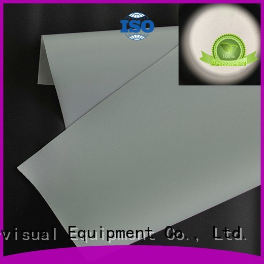 Front and rear portable projector screen screen projector screen fabric XY Screens Brand