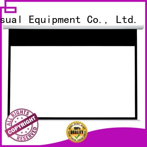 stable Home theater projection screen supplier for home