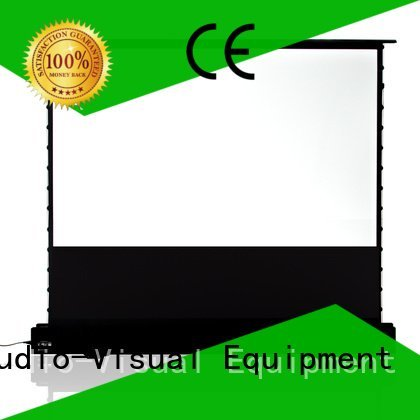 floor pull up projector screen edlpu pull XY Screens