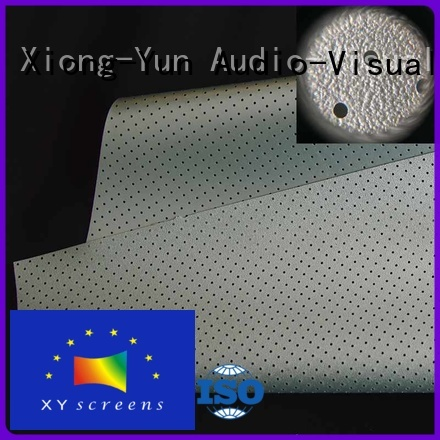 XY Screens Brand sound max acoustic fabric gain