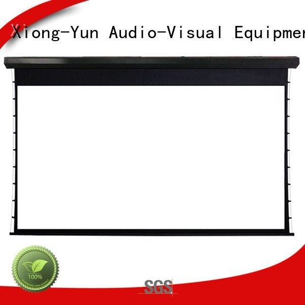 Wholesale motorized ec150 large portable projector screen XY Screens Brand