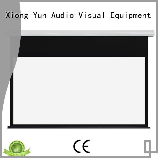 inch screen projection XY Screens free standing projector screen