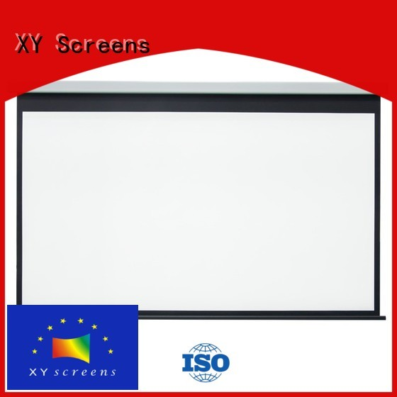 XY Screens Home theater projection screen wholesale for home