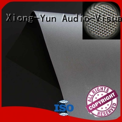 XY Screens projector cloth customized for thin frame projector screen