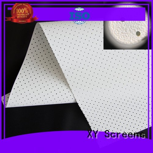 XY Screens Brand gain sound max5 acoustic fabric