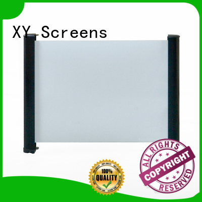 XY Screens curved table top screen wholesale for household