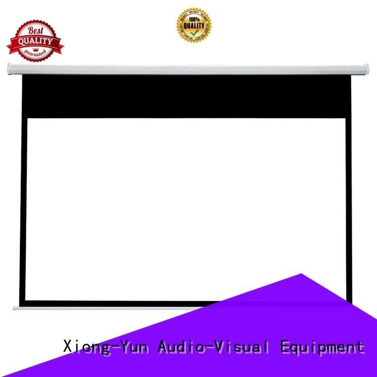 XY Screens Home theater projection screen personalized for rooms