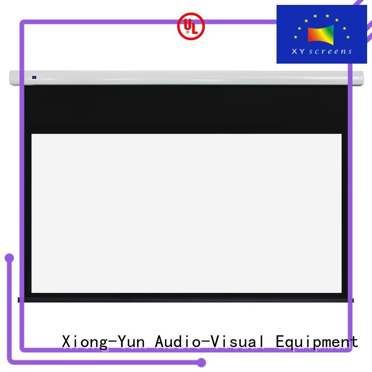 ec1 80170 motorized XY Screens Brand free standing projector screen manufacture