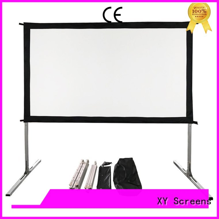 outdoor pull down movie screen carry for outdoor XY Screens